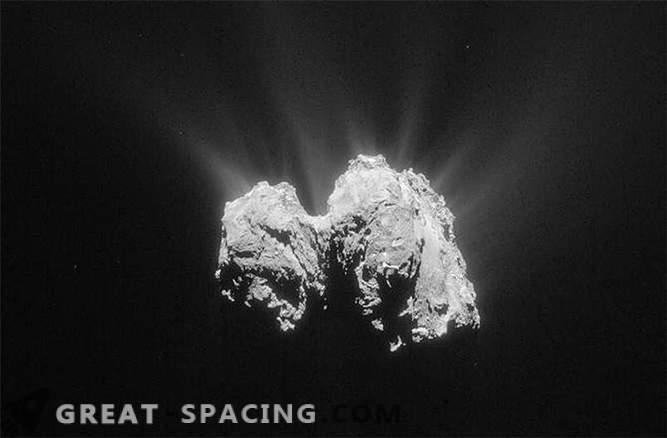 La navicella di Phil, situata su una cometa, contattò Rosetta