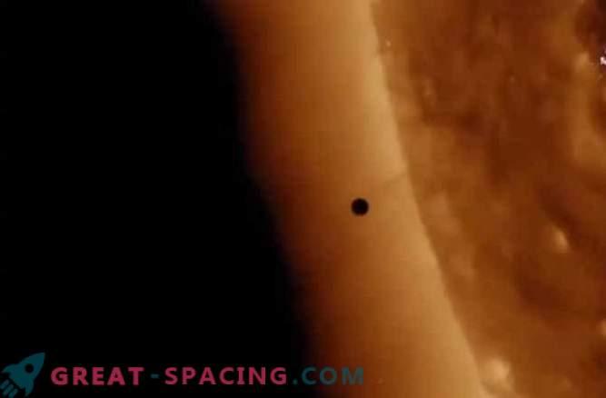 Il 9 maggio Mercurio è passato prima del Sole
