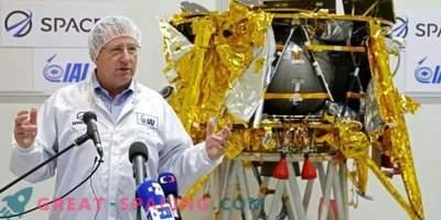 La navicella israeliana si appresta a lanciare sulla luna con un