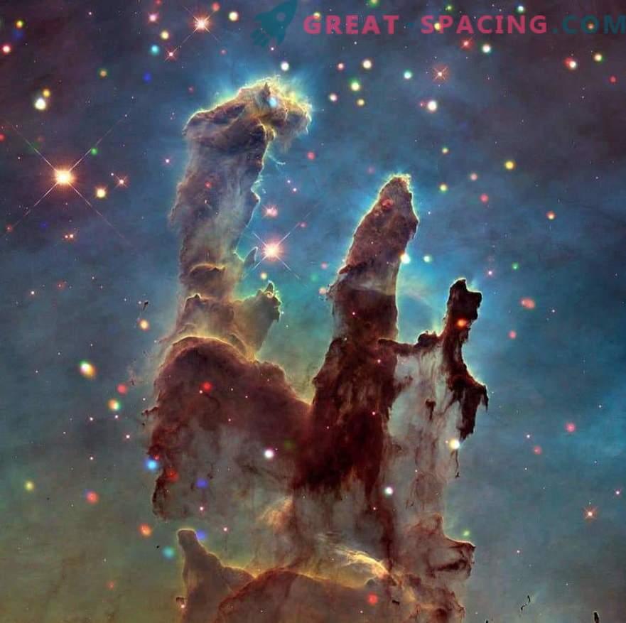 Studio della Nebulosa dell'Aquila e Pilastri della Creazione
