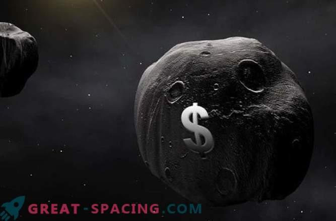Il saccheggio delle acque degli asteroidi renderà i lanci più economici
