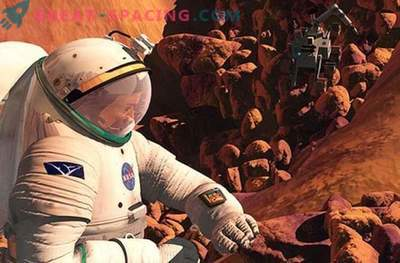 Cosmic radiation can harm astronauts when flying to Mars