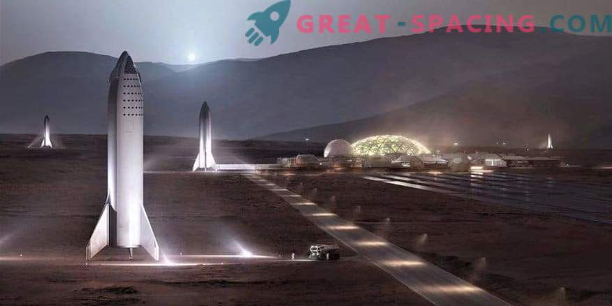 SpaceX costruirà una versione mini del razzo BFR