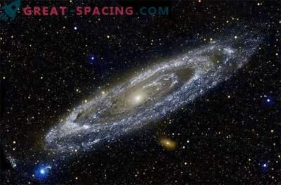 La nostra galassia e l'alone di Andromeda potrebbero toccare