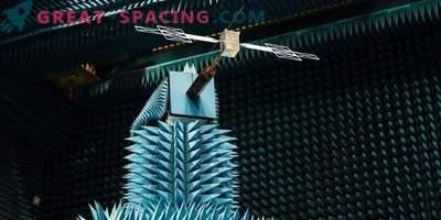 Test di un'antenna radar per un dispositivo JUICE