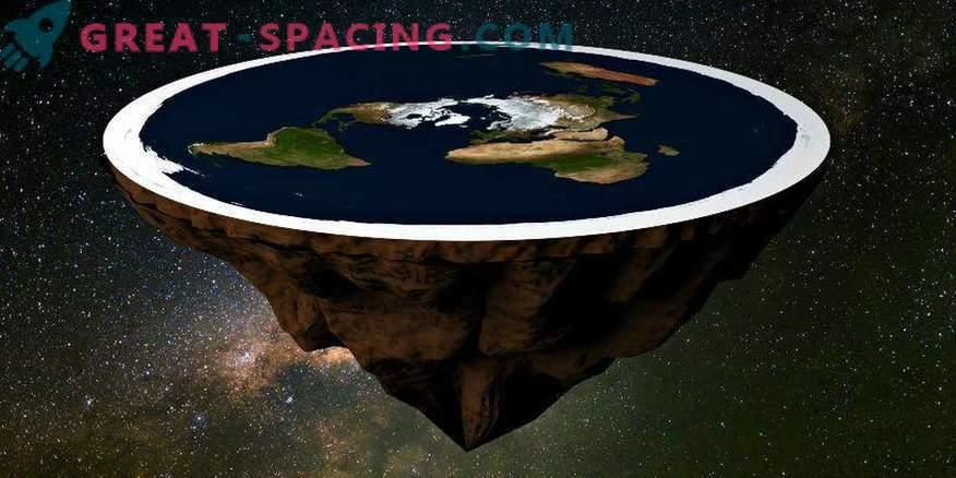 Gli americani raccolgono denaro per dimostrare che la Terra è piatta
