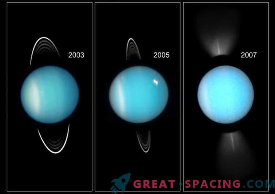 Il pianeta è dalla sua parte. Cosa è successo a Urano nel passato