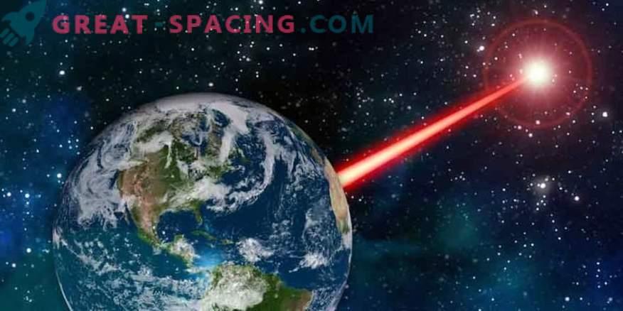Un potente faro di terra ti consente di inviare un segnale agli alieni