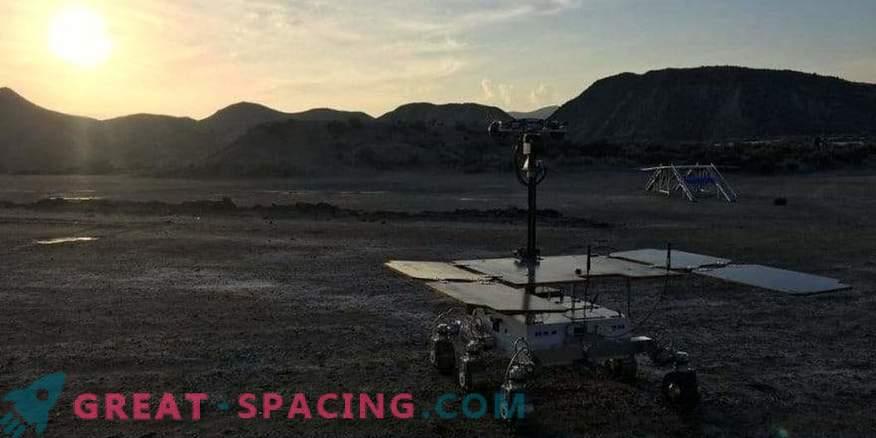 Prototipo del rover per il programma ExoMars