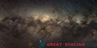 Il nucleo galattico mostra un basso livello di nascita stellare