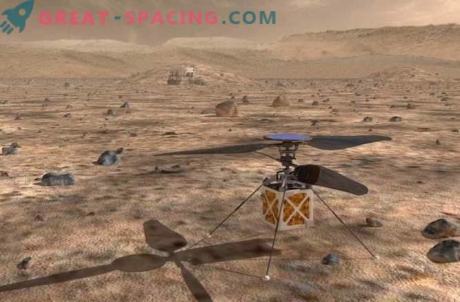 Il prossimo rover può essere equipaggiato con un elicottero