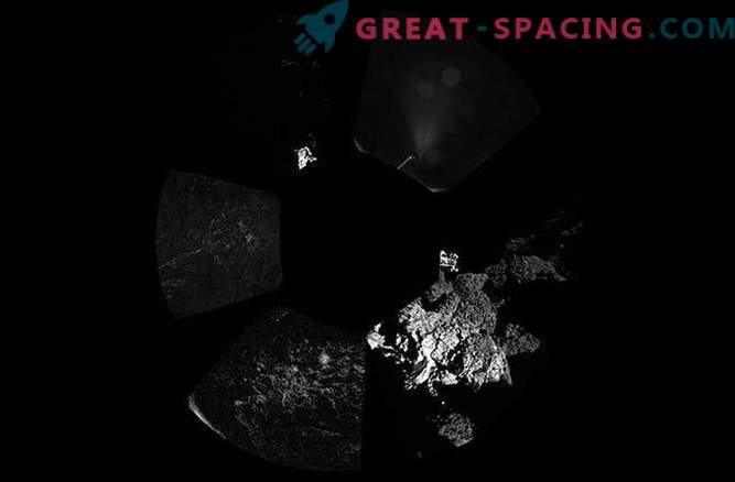 Ottenute le prime fotografie della cometa Churyumov-Gerasimenko dal modulo di atterraggio di Phil