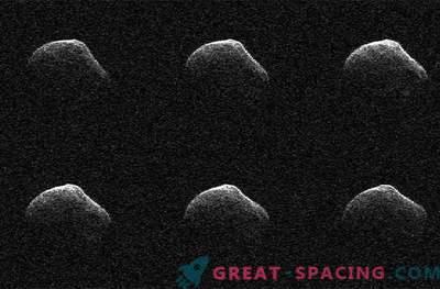 La cometa volante era più grande di quella degli scienziati