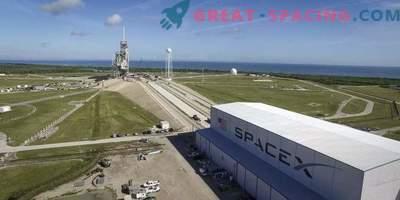 Falcon 9 ha avviato il motore per la prima volta su un launch pad storico