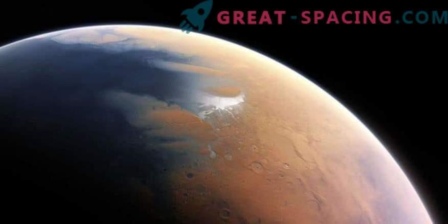 Un lago liquido si nasconde sotto la crosta di ghiaccio di Marte