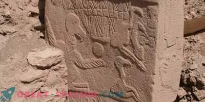 Lo shock cometario più importante viene visualizzato sui pilastri di pietra