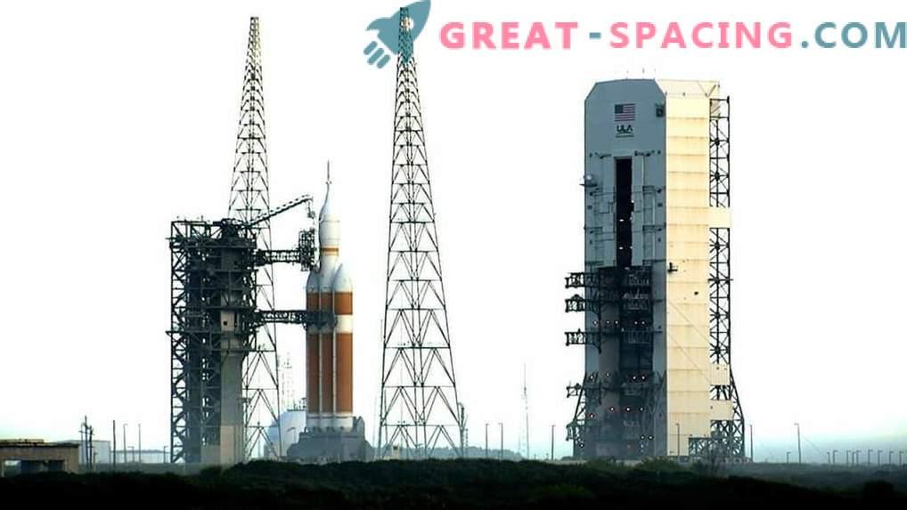 Il volo di prova di Orion è stato posticipato a venerdì