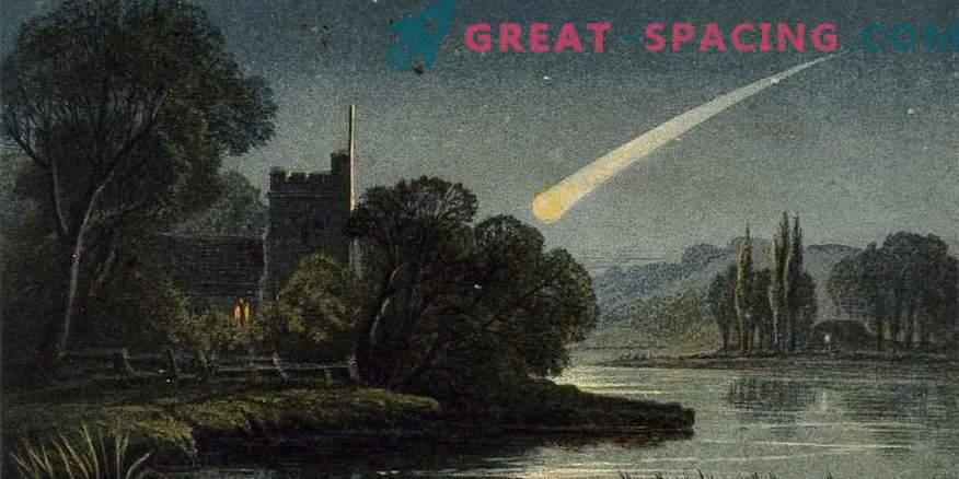 Splendide immagini di comete che spaventavano l'umanità