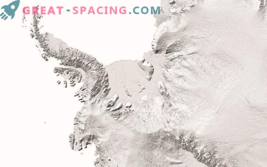 Splendidi dettagli dell'Antartide nella nuova mappa con alta risoluzione