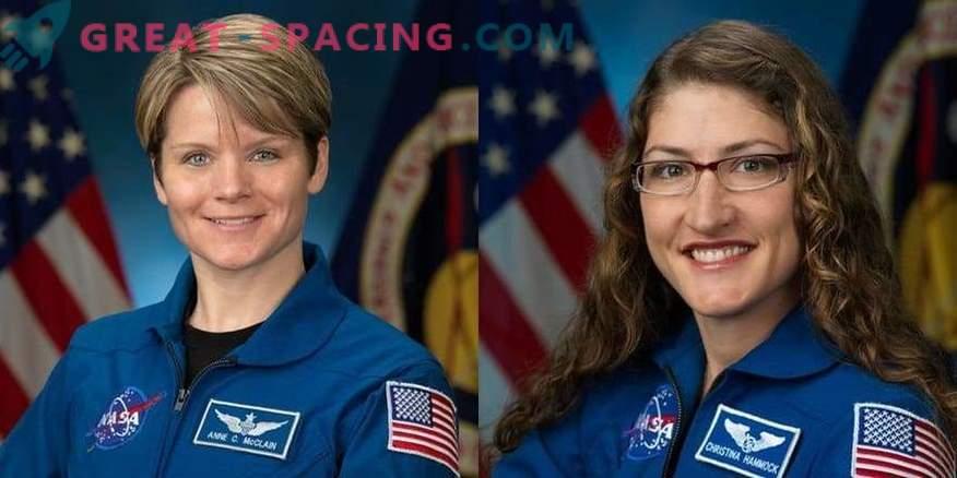 Perché la NASA ha annullato la passeggiata spaziale di due astronauti femminili