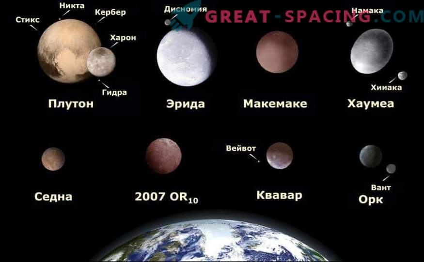 Where are the rest of the dwarf planets of the solar system hiding