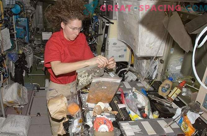 La NASA sta sviluppando una nuova colazione per gli astronauti