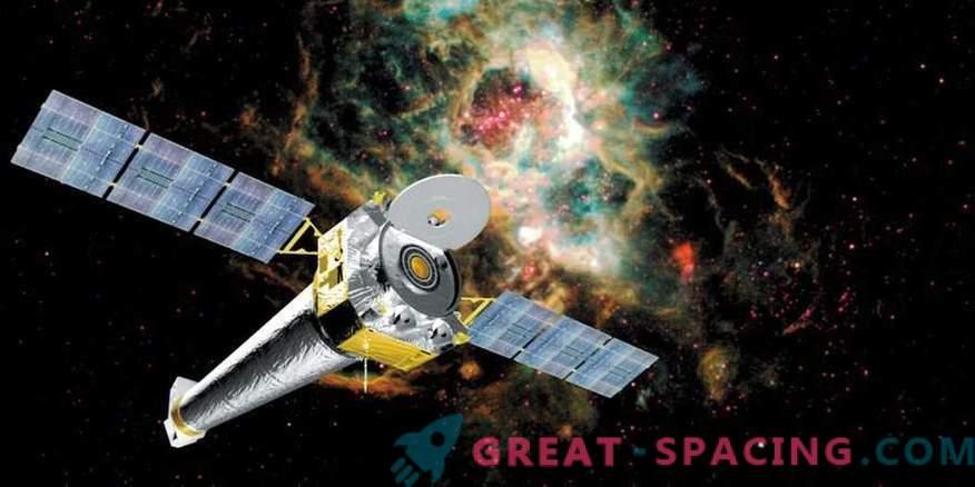 Il telescopio spaziale Chandra ritorna al suo solito lavoro