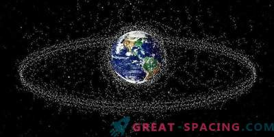 Space debris is coming! New object map in near-earth orbit