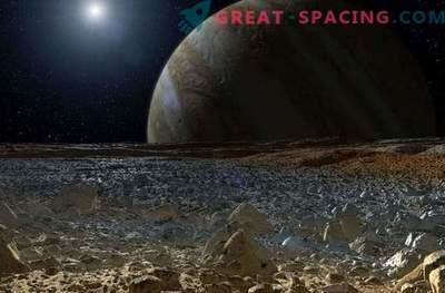 La composición química del satélite de Europa puede ser idéntica a la de la tierra