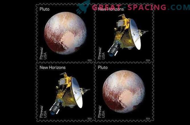La missione New Horizons verrà impressa sul segno