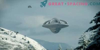 Che oggetto non identificato è apparso nel cielo di Anchorage vicino alla base dell'aeronautica statunitense. Video