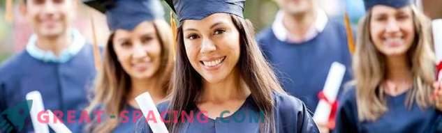 I vantaggi di ottenere un'istruzione in America