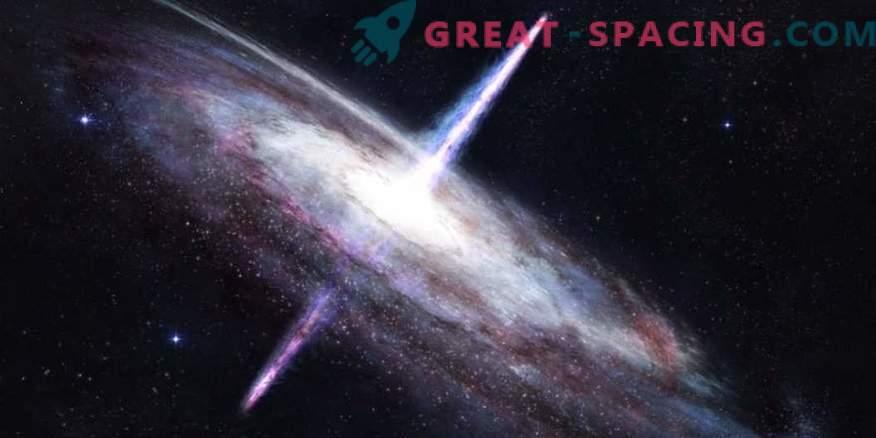 Un jet degno di nota di quasar 4C + 19.44