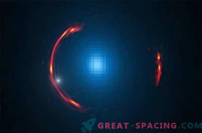 La materia oscura di una galassia nana è nascosta nella deformazione dello spazio-tempo