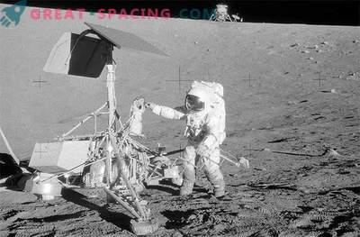 L'equipaggio dell'Apollo-12 ha trovato uno dei primi veicoli lanciati sulla Luna durante lo sbarco