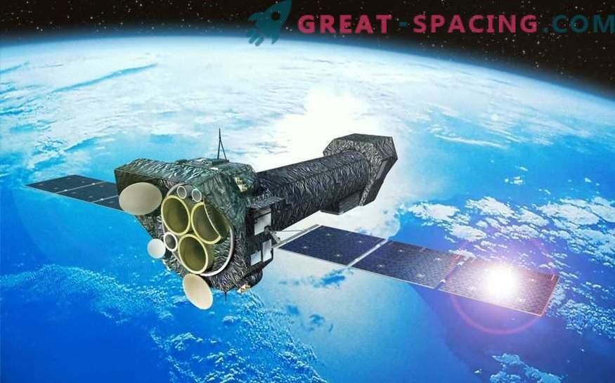 Il materiale cade in un buco nero alla velocità di 90.000 km / s!