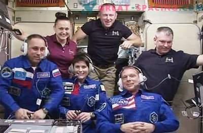 I nuovi membri dell'equipaggio sono arrivati in sicurezza sulla ISS