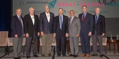 I leader della NASA celebrano il 60 ° anniversario dell'agenzia