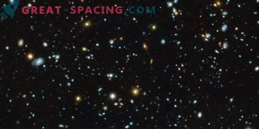 MUSE testa il campo ultra profondo Hubble