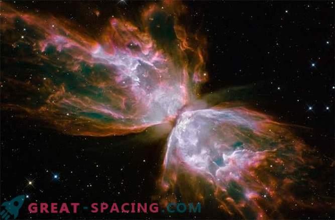 Fotografie spettacolari di nebulose planetarie bipolari