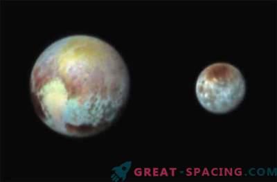 New Horizons ha realizzato una foto a colori di Plutone e Caronte