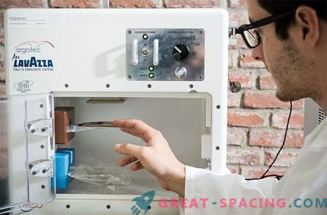 La caffettiera viene inviata alla stazione spaziale