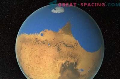 Un enorme tsunami ha cambiato il paesaggio su Marte