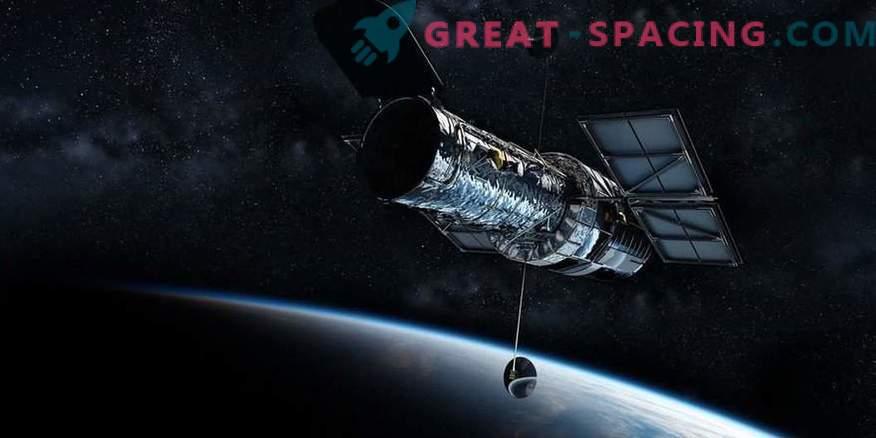 La visione di Hubble dovrebbe sparire presto