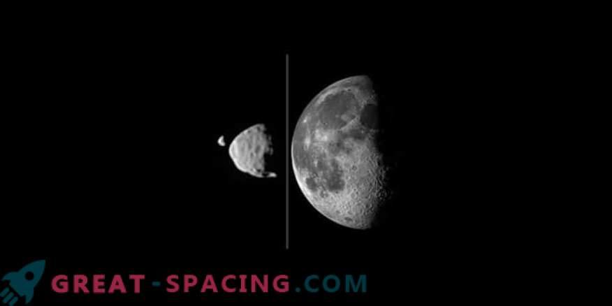 Le lune marziane potrebbero apparire a causa di un colpo.