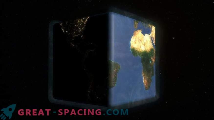 Che cosa sarà la vita sulla Terra come un cubo
