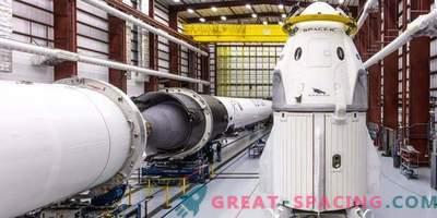 Das erste Crew-Raumschiff von SpaceX ist bereit für das Debüt
