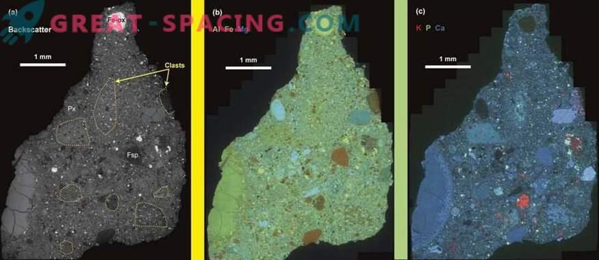 L'antico meteorite rivela le caratteristiche della topografia marziana