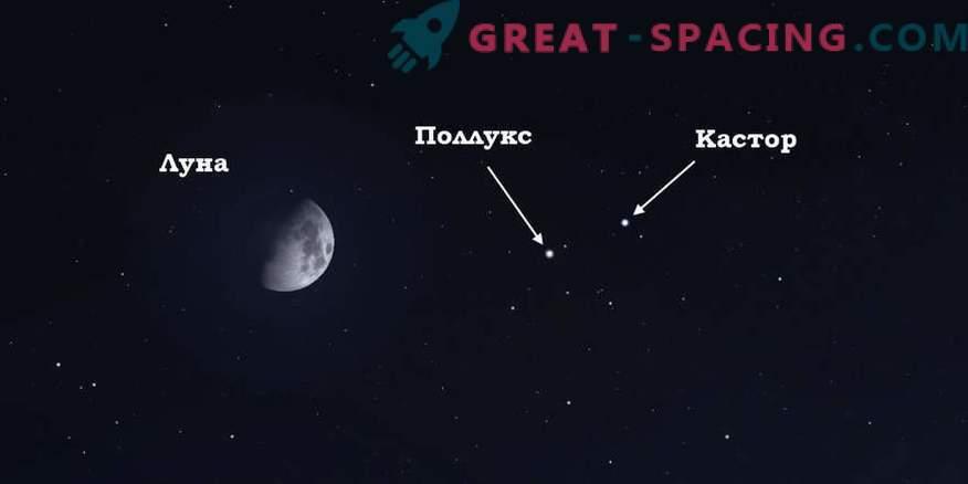 Cosa indicherà la luna nel cielo notturno il 13 aprile 2019