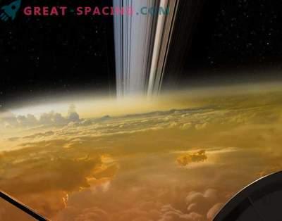 Last shot of Cassini? Well ... not really